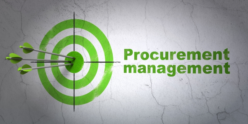 7981119-business-concept-target-and-procurement-management-on-wall-background